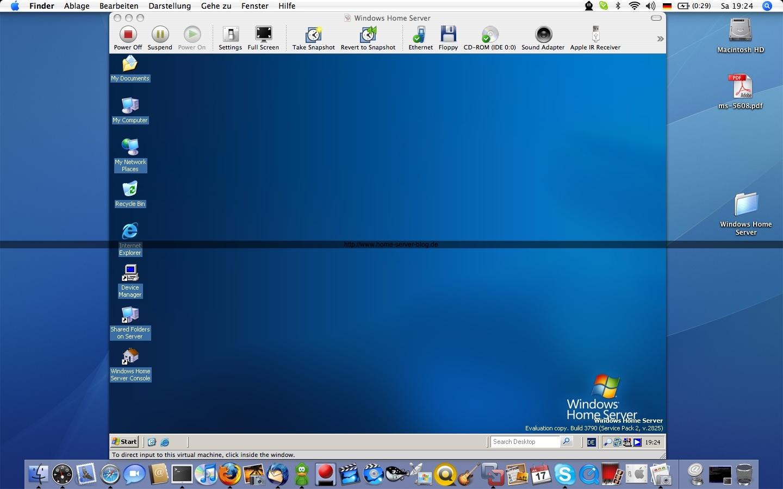 Windows Home Server Webseite Ist Online