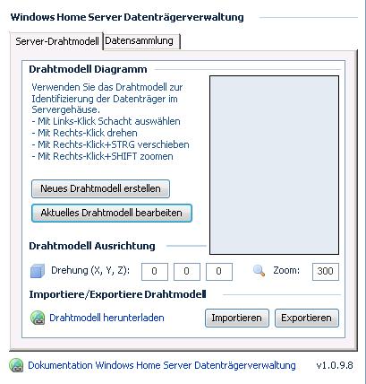 Add-In Test: WHS Datenträgerverwaltung
