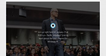 "Live Stream ""Next Chapter of Windows 10"""