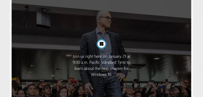 "Live Stream ""Next Chapter of Windows 10"""